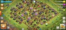 حساب clash of clans