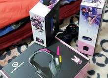 للبيع D.Va collection ماوس و ماوس باد و سماعات بمايك