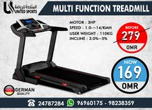Multi Function Treadmill - For Sale