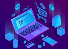 تصميم موقع منتجات لشركات التجارة الالكترونية والبيع اون لاين
