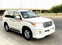 White Toyota Land Cruiser 2015 for sale