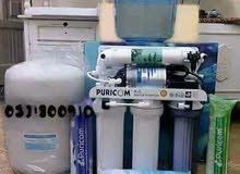 اجهزة فلاتر ماء 7 مراحل امتياز امريكي كاش وأقساط مع هدية لأول 20 متصل كولر ماء