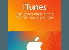كروت اي تونز و اب ستور Itunes and App's store