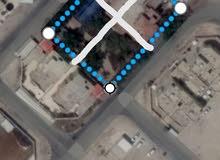 للبيع ارض في الغرافه على شارع خدمي