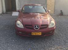 Mercedes Benz SLK 350 2005 For sale - Maroon color