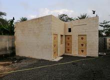 غرف للايجار للعمال فلج القبائل قريب من ميناء