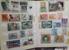 طوابع قديمة عربية واجنبية للبيع 440 طابع
