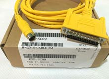 كابل برمجة Mitsubishi PLCProgramming Cable FX/A Series
