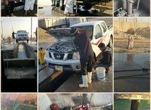 لدينا محطة غسل للسيارات معدات ثقيله للبيع .