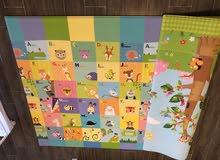 Childrens room soft plush matt
