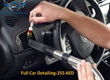 Full Car detailing and Polishing@ 255 AED