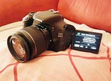 يوجد لدينا إيجار كاميرا كانون 600d