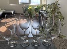 Redwine Glasses set (8)