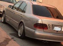 للبيع مرسيدس E430 موديل 2001 قابل للبدل