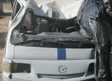 مازدا كرهبة عاملة حادث مضروبة