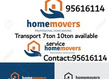 house shifting service available.
