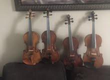 Germany & Italy violins
