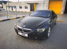 للبيع او البدل BMW 650i GCC 2006 model