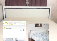 سرير من هوم سنتر مع فراشه مستخدم اقل من سنه