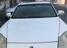 white PORSCHE Cayenne 2006