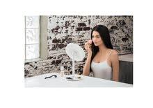 Illuminated Makeup Mirror with Fan – مراية الميكب المضيئة مع المروحة + مصاريف الشحن