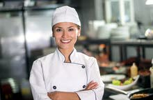Looking for a female Chef