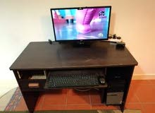 مكتب كمبيوتر خشب