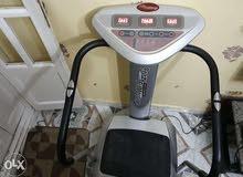 جهاز كريزي فيت مساج تحمل 150 كيلوجرام بحاله جيده استخدام منزلي