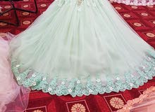 فستان تصميم سندريلا فخم