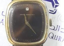ساعة قديمة جرار باريجو مع حبة الماس  Watch Girard Perregaux vintage