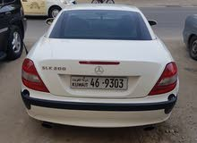 White Mercedes Benz SLK 200 2005 for sale
