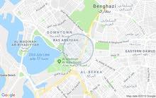 شقه للإيجار بنغازي سيدي حسين