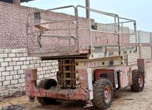 سيزر مان لفت - JLG - متر 12./ scissors man lift - JLG - 12 meter