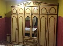 للبيع غرفه نوم  خشب بحريني
