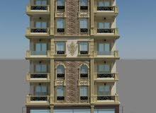 شقة للبيع علي شارع رئيسي بميامي وبتسهيلات علي 24 شهر