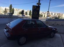 Automatic Maroon Mitsubishi 1988 for sale