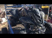 Yamaha motorbike made in 2012