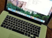 i7 لابتوب ماك بوك برو للبيع إنتل كور -Mac Book Pro Intel Core i7 - Ram 4GB - DVD