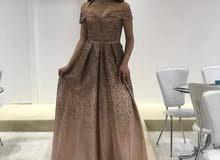 فستان  خطوبة  وسهرة