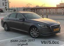 Grey Hyundai Genesis 2017 for sale