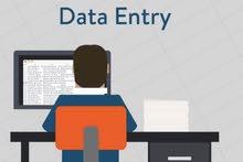 مطلوب موظفين لتدخيل البيانات من المنزل براتب 2850