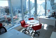 مكاتب مفروشة للايجار واصدار رخص مهن فوري