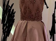 فستان راقي وفخم تصميم مدام فضيله في تركيا موديل سمكة