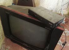 تلفزيون مع السيفر مستعمل نظيف بحالة ممتازه للبيع