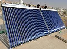 سخانات شمسية للمنازل والمسابح (مختلف الأنواع)