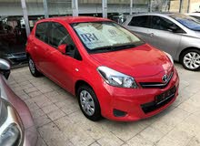 Automatic Red Toyota 2014 for sale