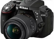 كاميرا Nikon D5300 بحال الوكالة