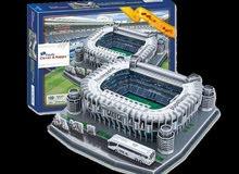 مجسمات ملاعب كرة قدم انديه اوروبا ريال مدريد، يوفنتوس، برشلونه، ميونخ،انتر ميلان
