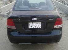 Black Chevrolet Aveo 2005 for sale