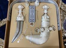 خنجر سعيدية صياغة خاصه وثقيله وبنصلتين